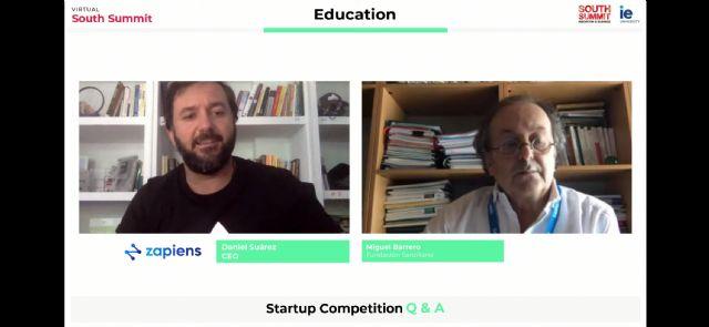 La startup española Zapiens sube al podio internacional del Virtual South Summit en la sección Educación - 2, Foto 2