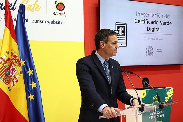 El presidente presenta en FITUR el Certificado Digital Covid aprobado por la UE con el objetivo de reactivar el turismo y la economía en Europa - 2, Foto 2