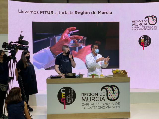 La UMU interviene en FITUR con un espectáculo de ciencia y gastronomía - 1, Foto 1