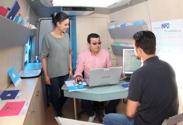 El servicio Infomóvil que asesora a emprendedores llega a Puerto Lumbreras - 1, Foto 1