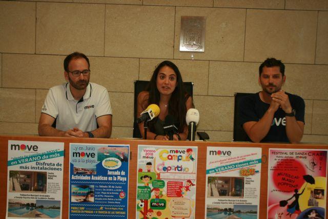 Se presenta el programa de actividades deportivas de verano del Centro Deportivo