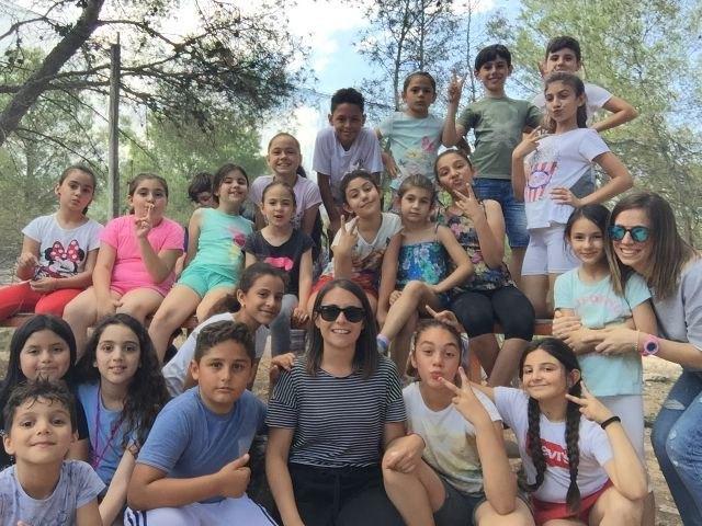 Fiesta de bienvenida al verano del programa de acompañamiento a menores y familias que desarrolla