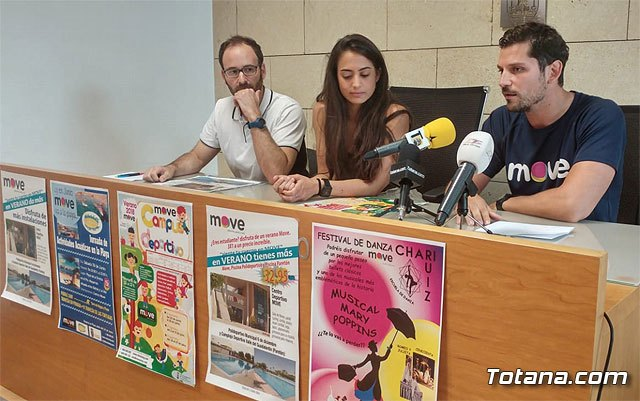 "The program of summer sports activities of the ""MOVE"" Sports Center is presented"