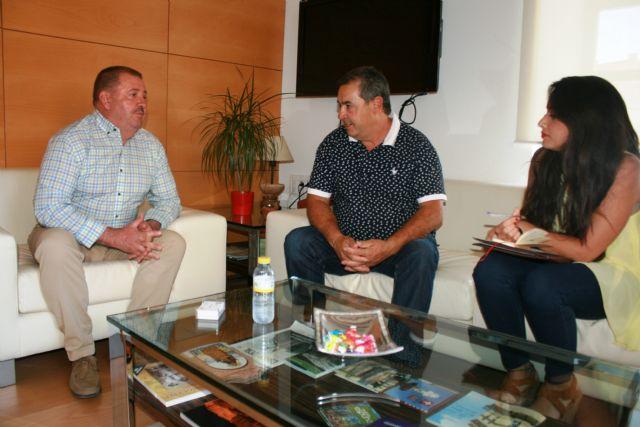 Autoridades municipales se reúnen con el presidente del Olímpico para coordinar actuaciones de colaboración de cara a la próxima temporada 2018/2019