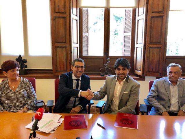 La Universidad de Murcia y ALDIMESA firman un convenio para investigar patologías del aparato locomotor - 1, Foto 1