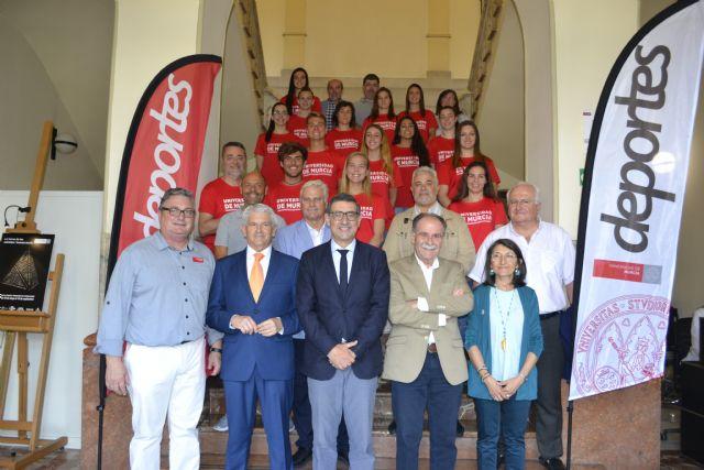 Recepción oficial a los deportistas que representarán a la Universidad de Murcia en la Universiada y los campeonatos de Europa de este verano - 1, Foto 1