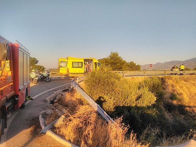 Accidente de tráfico con 4 heridos en Alhama de Murcia - 1, Foto 1