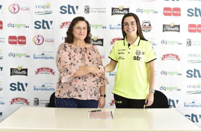 Ángela Gorriz continuará en el STV Roldán - 1, Foto 1