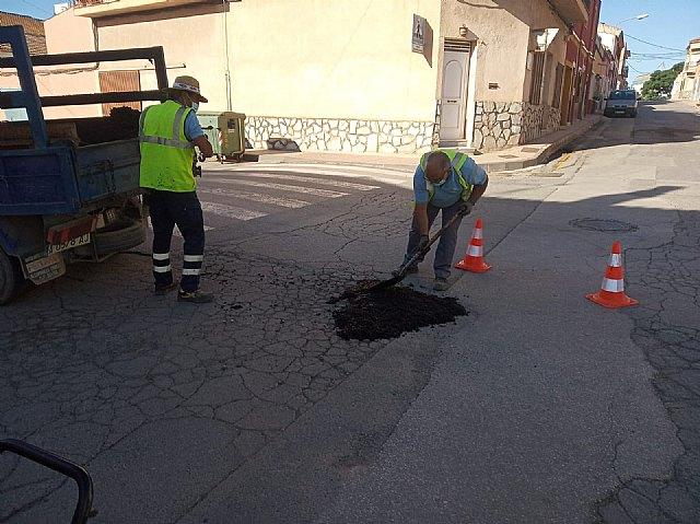 [Brigada municipal: trabajos del 21 de junio