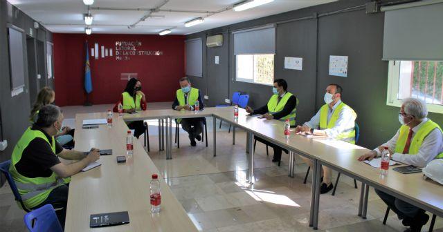 La consejera de Empleo de la Región de Murcia visita el Centro de Formación de la Fundación Laboral de la Construcción en Alhama - 2, Foto 2