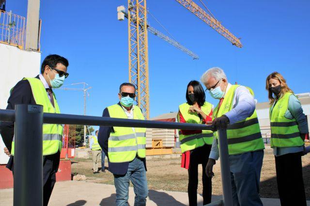 La consejera de Empleo de la Región de Murcia visita el Centro de Formación de la Fundación Laboral de la Construcción en Alhama - 3, Foto 3