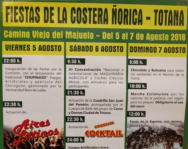 Las fiestas de La Costera-Ñorica 2016 se celebran del 5 al 7 de agosto en el Camino Viejo del Mojuelo, Foto 5