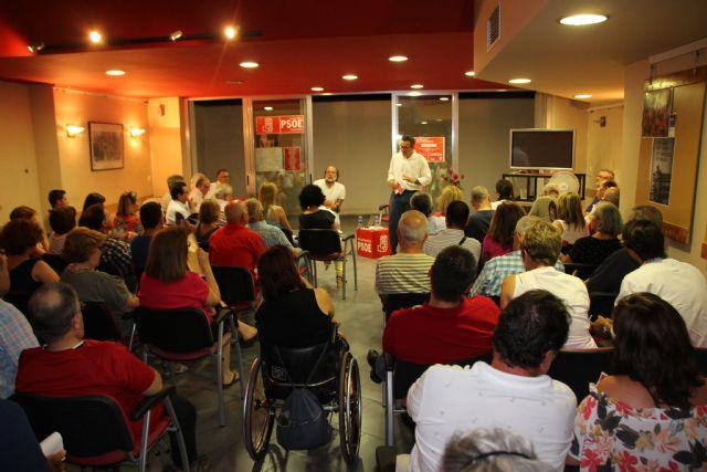 Diego Conesa visitará Cartagena, Murcia y Lorca la próxima semana para explicar las líneas de su programa, Foto 4