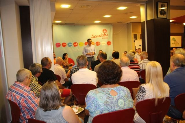 Diego Conesa visitará Cartagena, Murcia y Lorca la próxima semana para explicar las líneas de su programa, Foto 1
