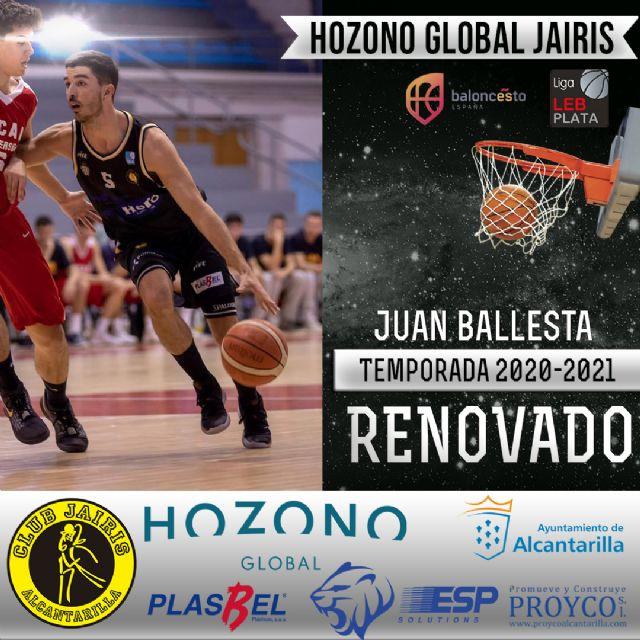 CB Jairis de Alcantarilla anuncia sus primeras renovaciones - 3, Foto 3