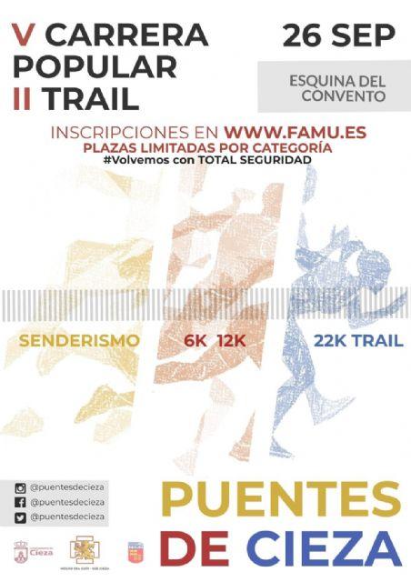 V Carrera Popular y II Trail Puentes de Cieza - 1, Foto 1