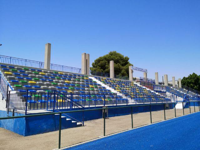 Obras de mejora en las instalaciones del polideportivo municipal de Alcantarilla - 2, Foto 2