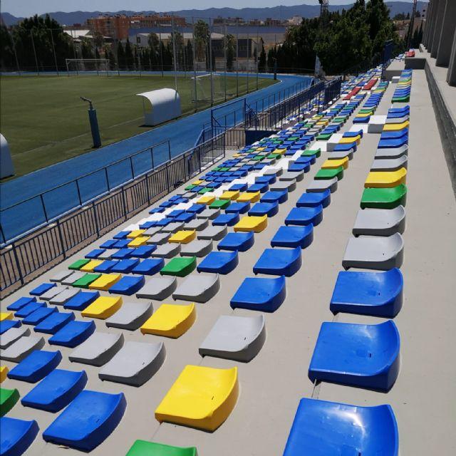 Obras de mejora en las instalaciones del polideportivo municipal de Alcantarilla - 3, Foto 3