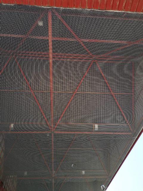 Obras de mejora en las instalaciones del polideportivo municipal de Alcantarilla - 4, Foto 4