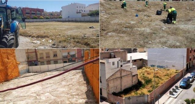 Saorín: Hay en marcha una treintena de expedientes para que se limpien los solares privados - 1, Foto 1