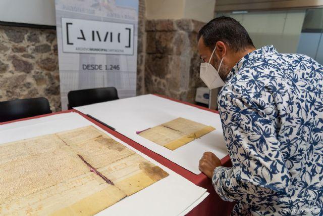 Cartagena recuperará dos documentos de época medieval - 1, Foto 1