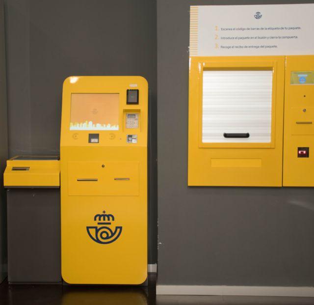 Correos instala una máquina autoservicio para el depósito de paquetes en la oficina principal de Murcia - 1, Foto 1