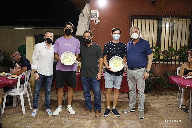 [Homenaje a Pedro Cánovas y cena clausura temporadas 2019-20 y 2020-21 de los torneos sociales de tenis y pádel del Club de Tenis Totana, Foto 2
