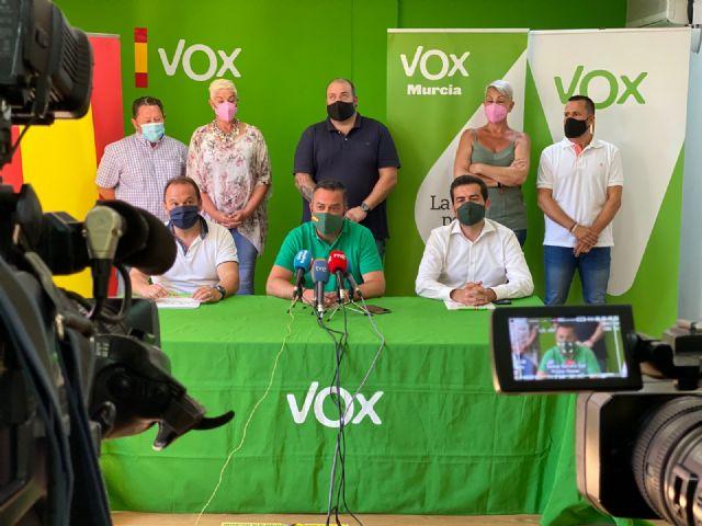 VOX defiende la gestión de sus pedáneos: Son el mejor ejemplo de cómo se va a gobernar en Murcia - 2, Foto 2