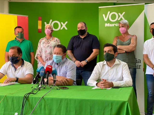VOX defiende la gestión de sus pedáneos: Son el mejor ejemplo de cómo se va a gobernar en Murcia - 3, Foto 3