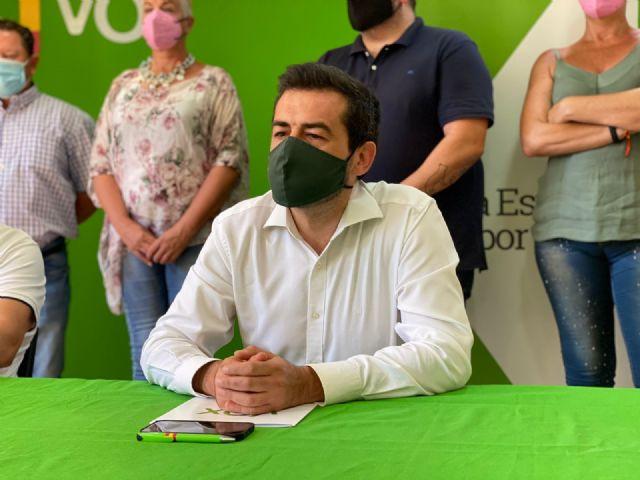 VOX defiende la gestión de sus pedáneos: Son el mejor ejemplo de cómo se va a gobernar en Murcia - 4, Foto 4
