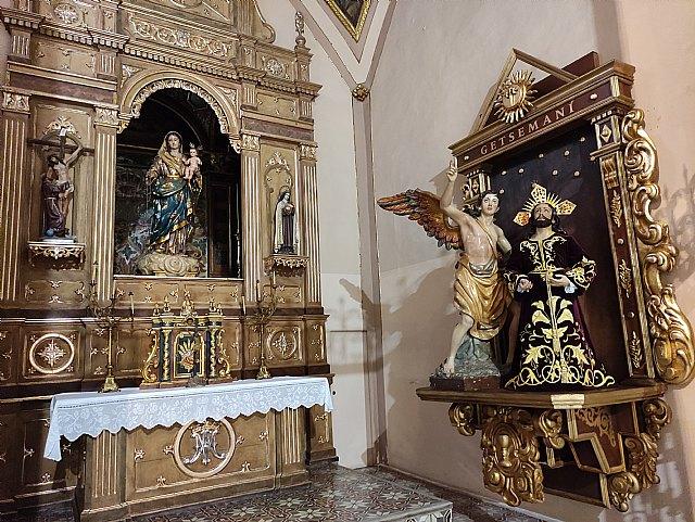 La Hdad. de la Oración en el Huerto estrena retablo en la Iglesia de Santiago el Mayor de Totana, Foto 3