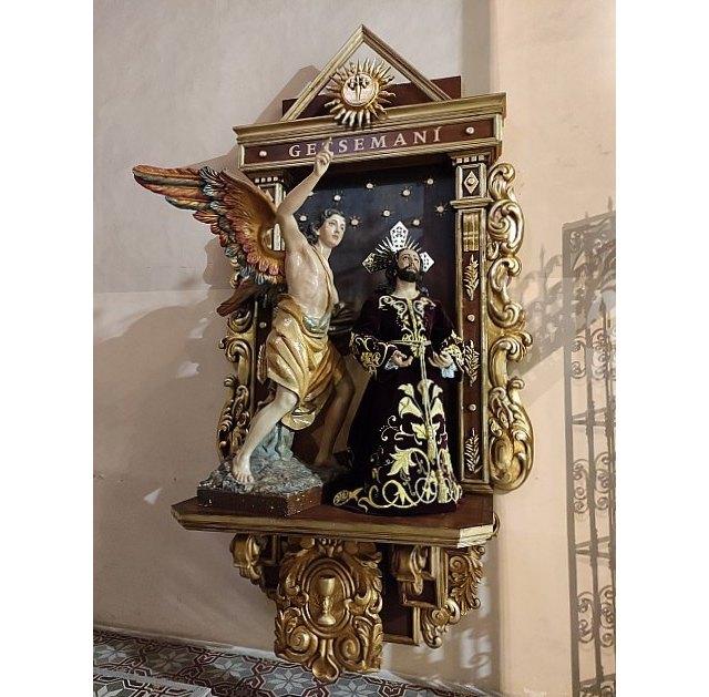 La Hdad. de la Oración en el Huerto estrena retablo en la Iglesia de Santiago el Mayor de Totana, Foto 4