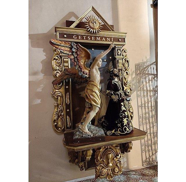 La Hdad. de la Oración en el Huerto estrena retablo en la Iglesia de Santiago el Mayor de Totana, Foto 7