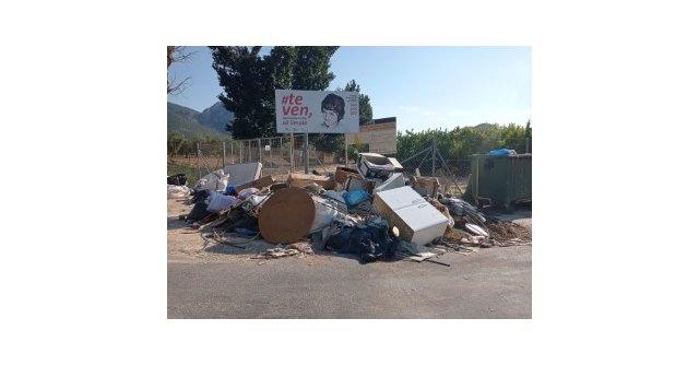 Podemos Cieza considera inaceptable el estado de abandono de distintos puntos de recogida de basura de nuestros campos - 2, Foto 2