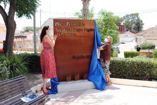 Fuente Álamo conmemora el ´Día de la Villa´ rindiendo homenaje al periodista Nicolás Ortega Pagán en su 150 aniversario - 1, Foto 1