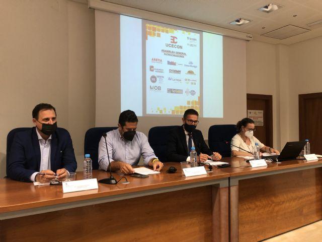 Los empresarios de la construcción de Lorca (UCECON) debaten sobre las ayudas a la rehabilitación de viviendas en su Asamblea General - 2, Foto 2