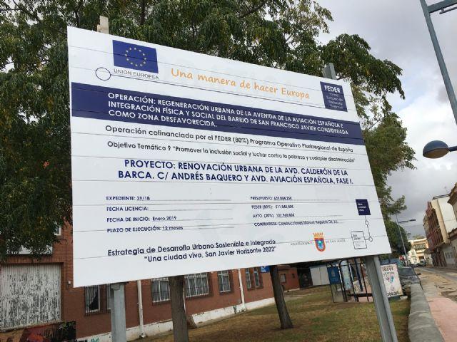 La renovación de la Avenida Aviación Española favorecerá la movilidad, accesibilidad y sostenibilidad del centro urbano de San Javier - 3, Foto 3