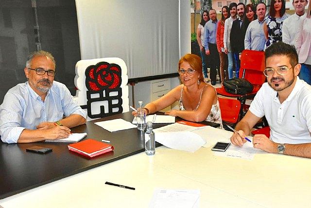 Reunión diputados socialistas en Caravaca - 1, Foto 1