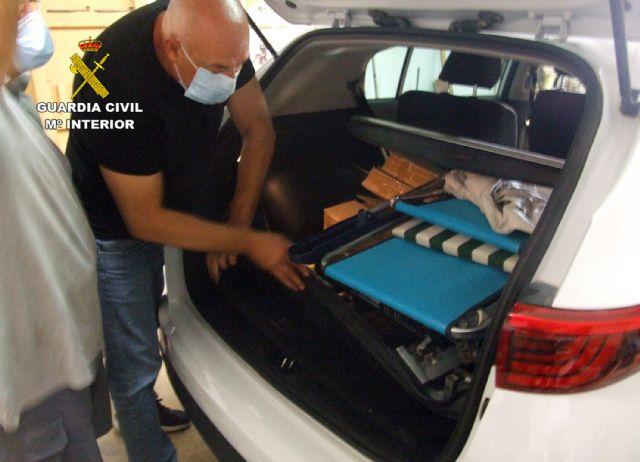 La Guardia Civil esclarece un robo con violencia e intimidación con la detención de la supuesta víctima - 1, Foto 1