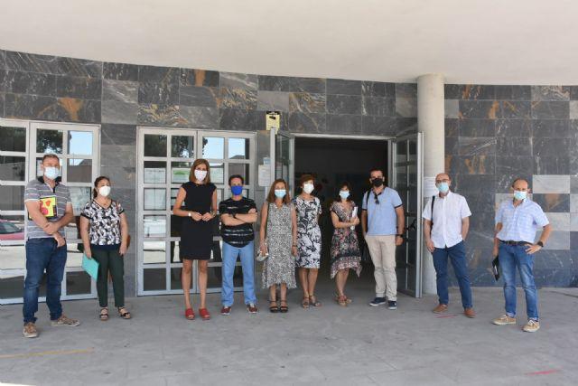 Archena prepara el inicio del curso haciendo test Covid-19 a todos los profesores y empleados de los centros docentes del municipio - 1, Foto 1