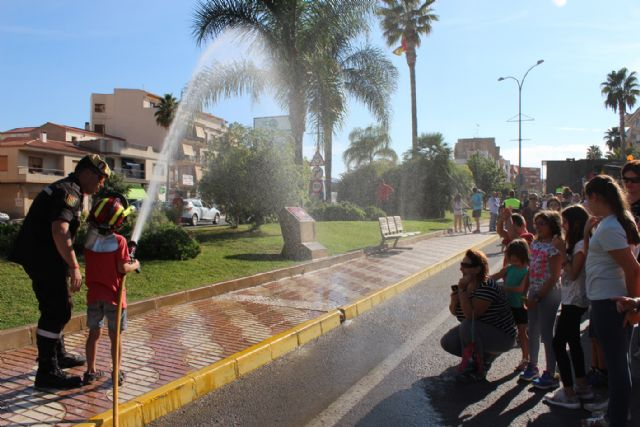 Los lumbrerenses conocen de cerca el trabajo de la Unidad Militar de Emergencias - 2, Foto 2
