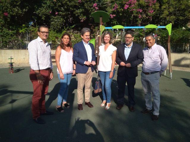 Ciudadanos se compromete a completar las obras de mejora del Parque de la Amistad de Blanca - 1, Foto 1