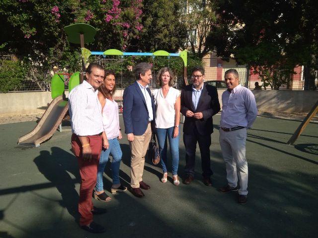 Ciudadanos se compromete a completar las obras de mejora del Parque de la Amistad de Blanca - 2, Foto 2