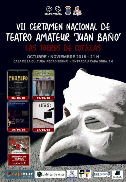 Las Torres de Cotillas disfrutará un año más del mejor teatro aficionado del país - 3, Foto 3