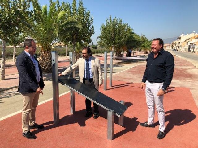 La Comunidad promovió en Ceutí una inversión de 247.000 euros en pavimentación, parques, plazas y carril-bici - 1, Foto 1