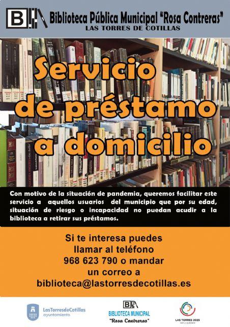 La biblioteca municipal estrena un servicio de envío de ejemplares a domicilio - 1, Foto 1