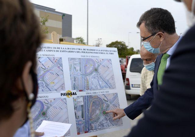 La mejora de los accesos al Campus de Espinardo desde la A-30 encara su recta final - 2, Foto 2