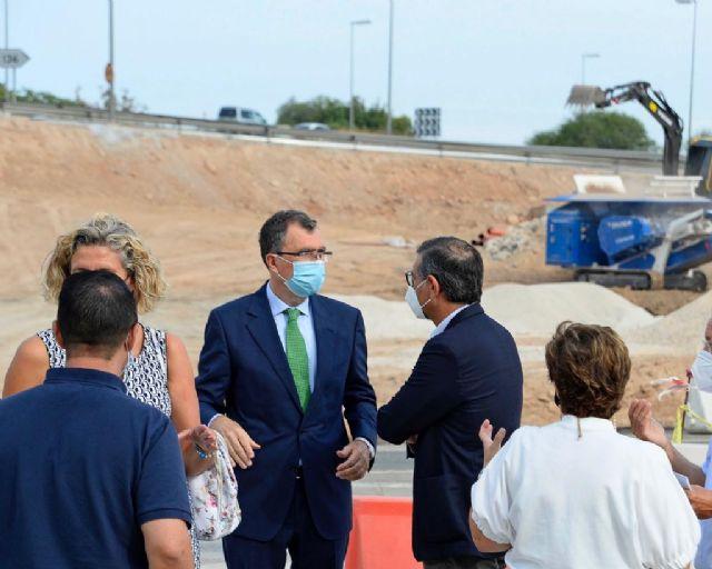 La mejora de los accesos al Campus de Espinardo desde la A-30 encara su recta final - 3, Foto 3