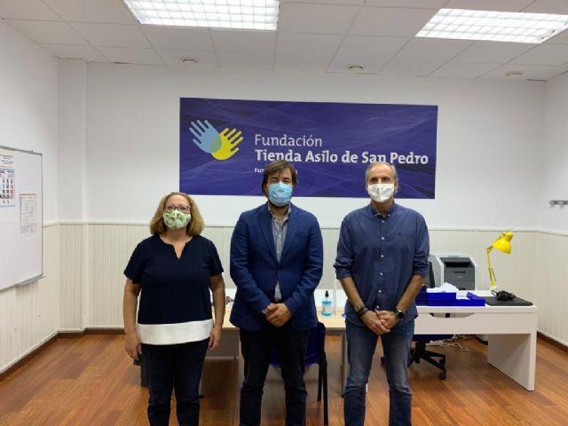 Más de 1.300 personas en riesgo de exclusión social realizan cursos del SEF en la Fundación Tienda Asilo San Pedro - 2, Foto 2