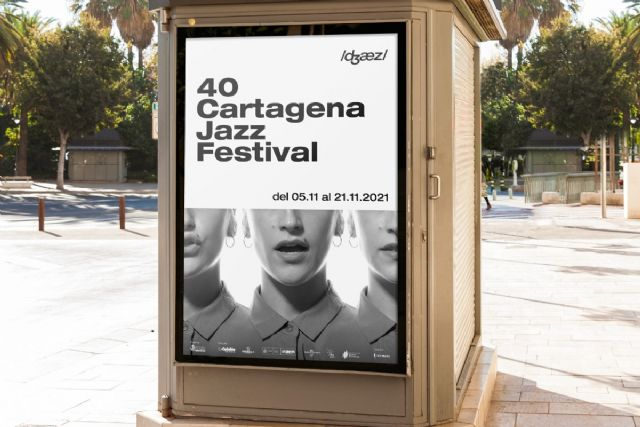 Julio Cortázar, y su relación con el jazz, inspira el cartel de Pepo Devesa para el 40 aniversario del Cartagena Jazz Festival - 1, Foto 1